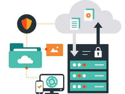 Government electronic records are safely stored on the cloud with easy accessibility from multiple devices.